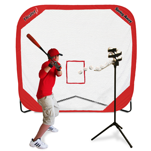 Big League Drop Toss & Spring Away Pop-Up Net