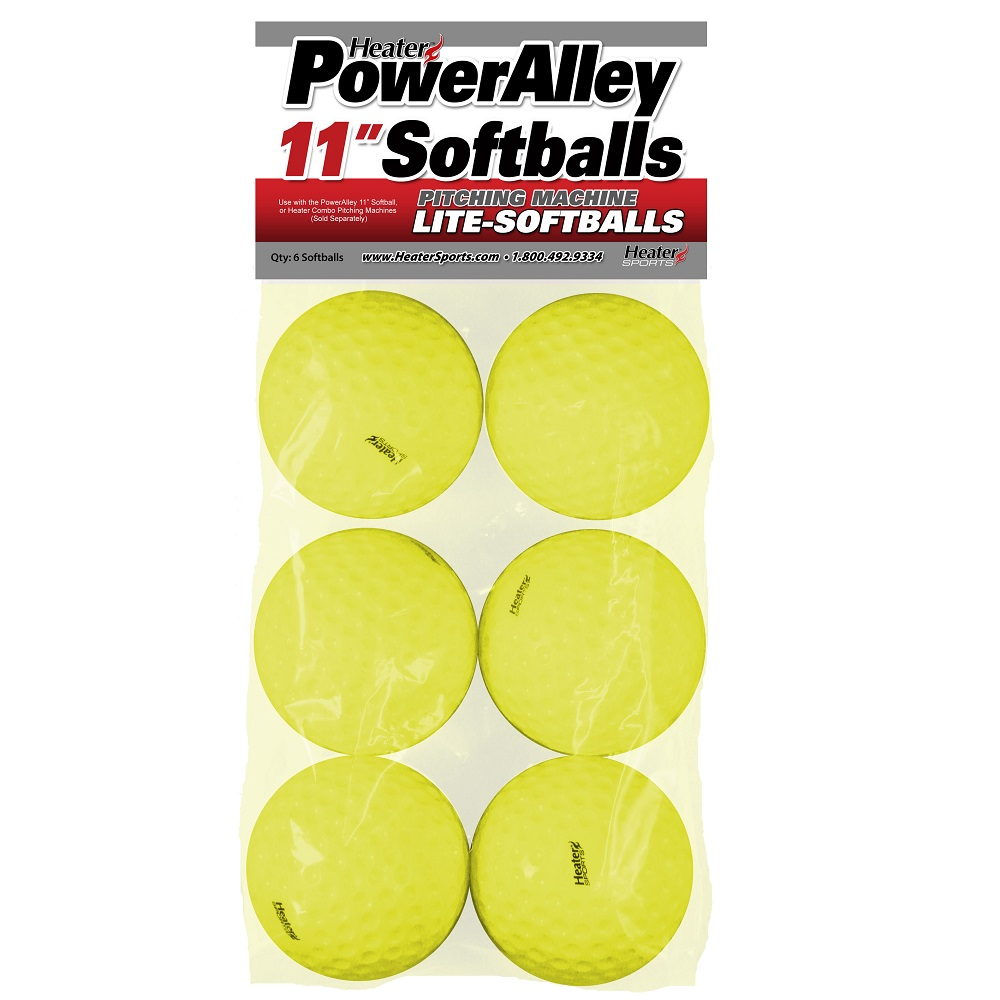 PowerAlley 11in Lite Softballs