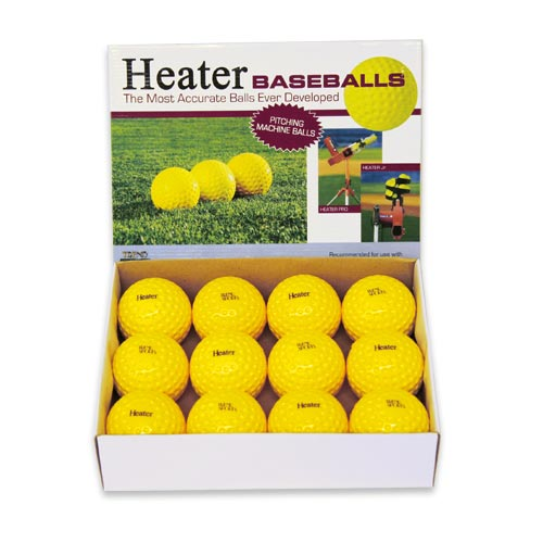Heater Pitching Machine Baseballs