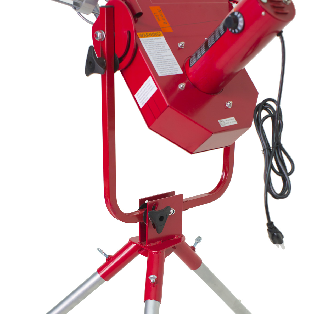 Heater Pro Real Curveball Machine With Ballfeeder (Reconditioned)