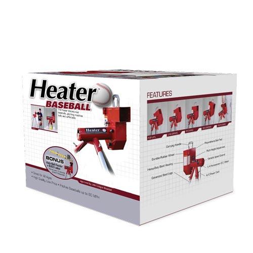 Heater Real Baseball Machine With Auto Ballfeeder