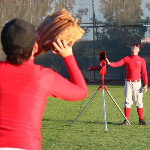 Heater Real 12 inch Softball Machine With Ball Feeder