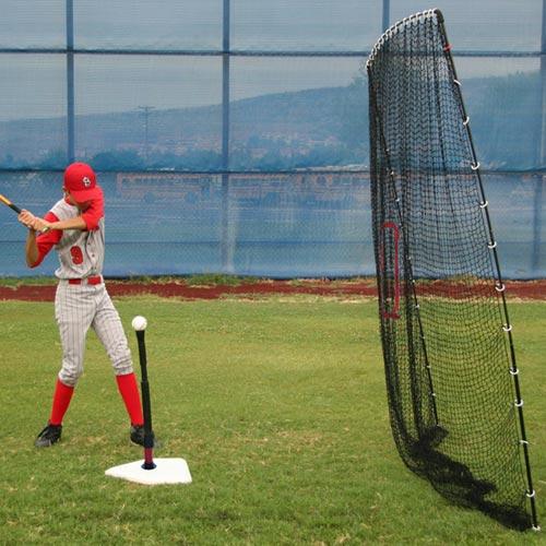 Spring Away Batting Tee & Big Play Net