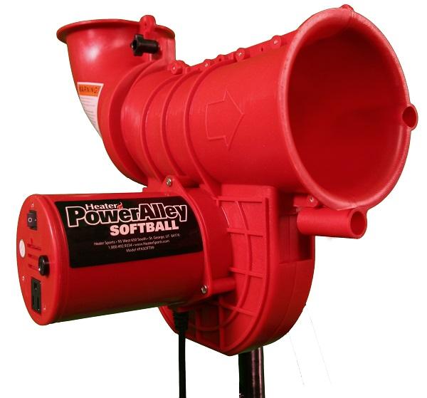 Power Alley Real 11 inch Softball Machine