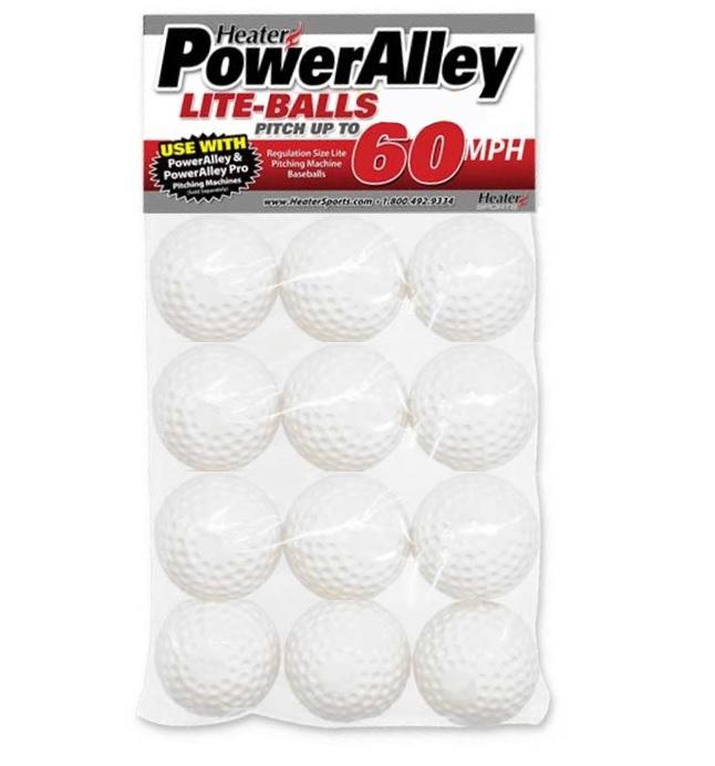 PowerAlley 60 MPH/97KPH Lite Cricket Balls