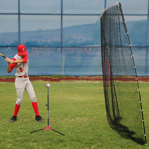 Flop Top Batting Tee & Big Play Net