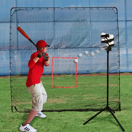 Big League Drop Toss & Big Play Net